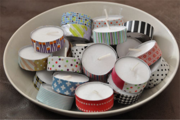 8 ideas con washi tape enmimetrocuadrado - Ideas para decorar con washi tape ...