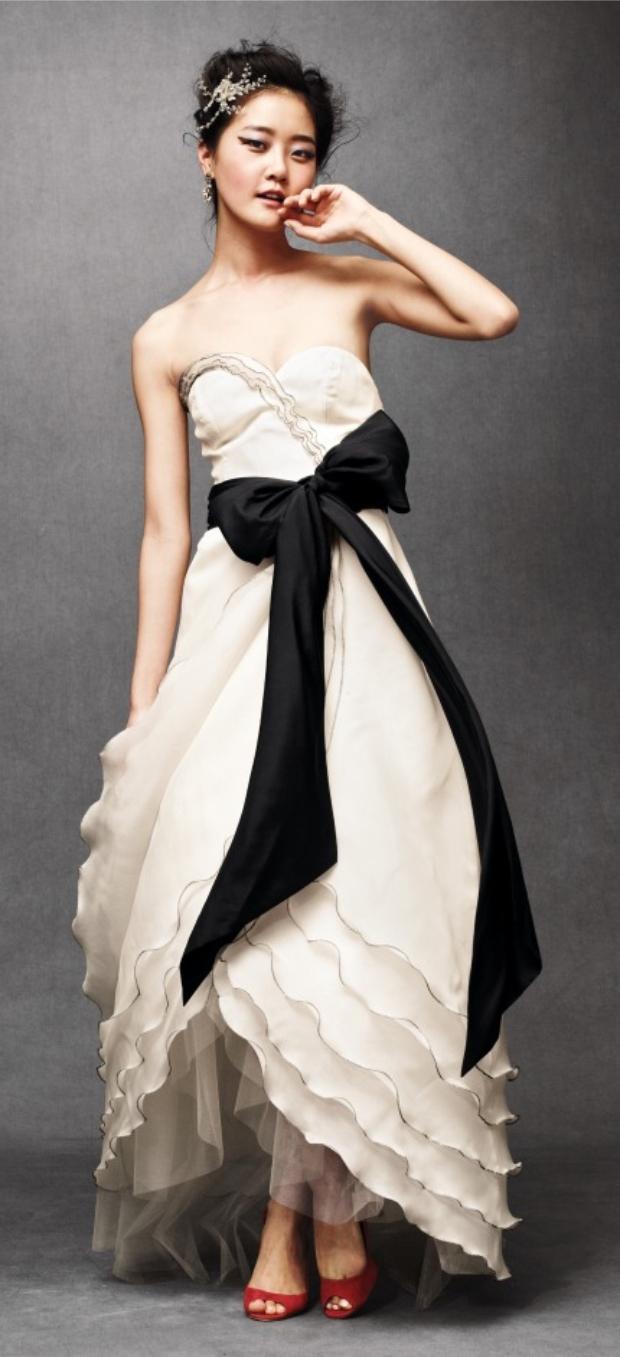 Hacer lazo vestido de novia
