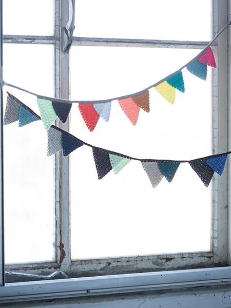 banderines- ganchillo